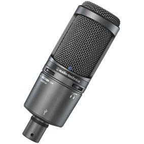Microfone Audio-technica At2020usb+ N.f. E Garantia 2anos