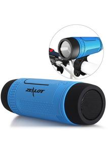 Zealot S1 4000mah Waterproof Bluetooth Bicycle Power Bank.