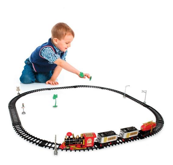 Super Locomotiva Ferrorama Luz Som Infantil