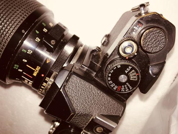 Camera Nikon (analógica) Lente Macro 70 - 210 Mm