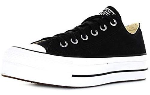 Zapatillas Bajas Converse De Lona Con Elevacion Para Mujer