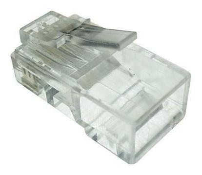 Conector Rj45 Seccon 8x8 Cat6 - Wt-6065-solid 100pçs