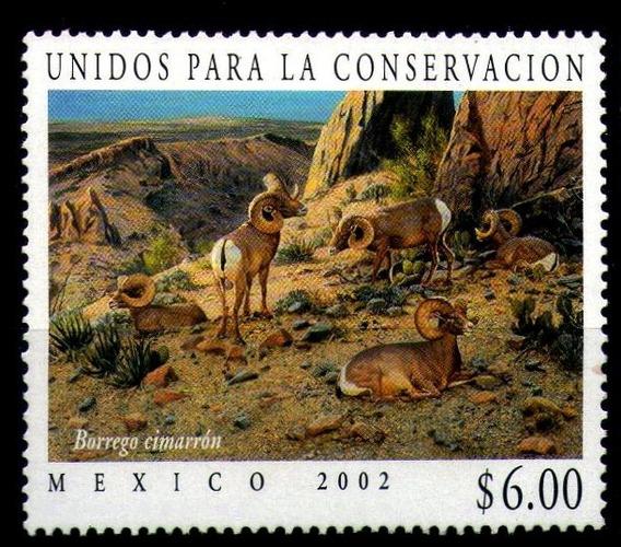 Mexico Sc 2250 $6.00p Borrego Cimarrón