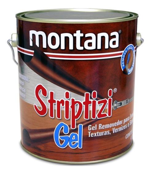 Removedor Tintas Verniz Texturas Striptizi Gel 4lt Montana