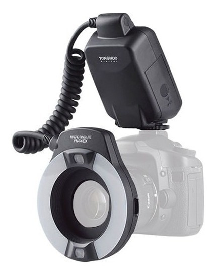Yongnuo Flash Circular Macro Yn-14ex Canon Ring Lite C/ Ttl