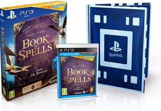 Wonderbook: Book Of Spells Ps3 Dvd + Libro