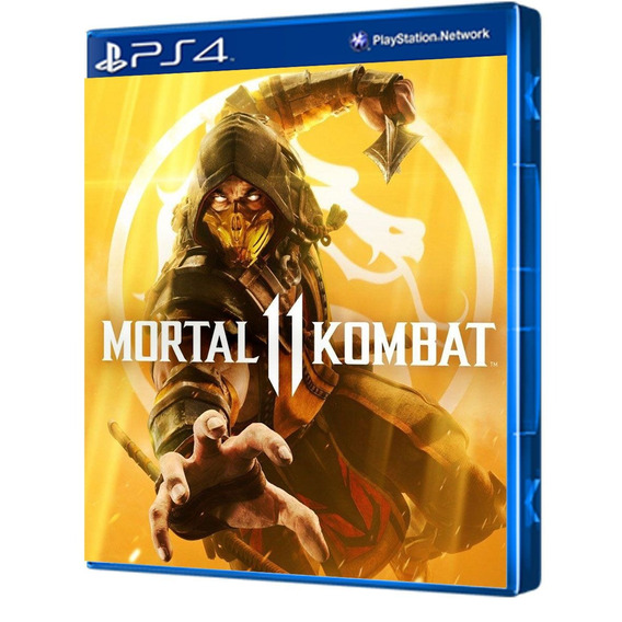 Jogo Mortal Kombat 11 - Ps4 Mídia Física Lacrado