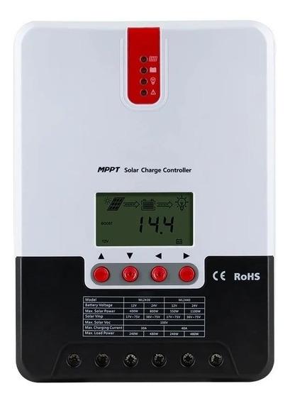 Controlador Carga Mppt 20a 12/24v Srne Ml2420 Profissional