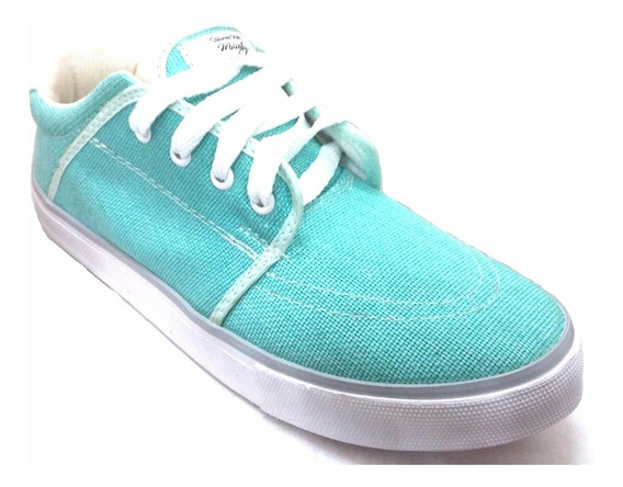Zapatilla Color Aqua