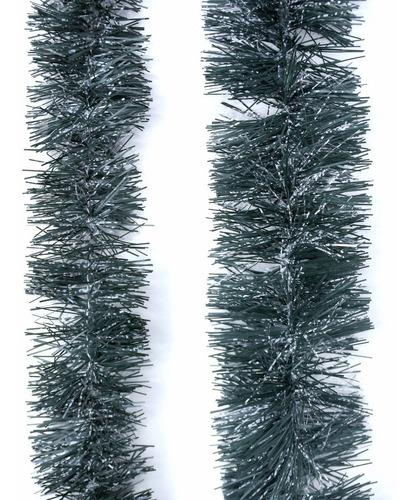 Guirnalda Navidad Verde Pino Con Nieve 10 Cm X 2 M #300