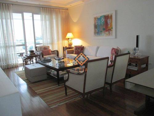 Apartamento Com 4 Dormitórios À Venda, 225 M² Por R$ 2.870.000,00 - Perdizes - São Paulo/sp - Ap31558