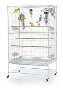 Jaula De Hierro Forjado Con Soporte Prevue Pet Products