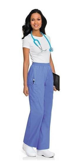 Pantalón Cargo Marca Scrubzone Color Azul Claro
