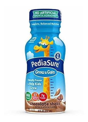 Imagen 1 de 6 de Pediasure Grow & Gain Niños Nutritional Shake, La Proteína,