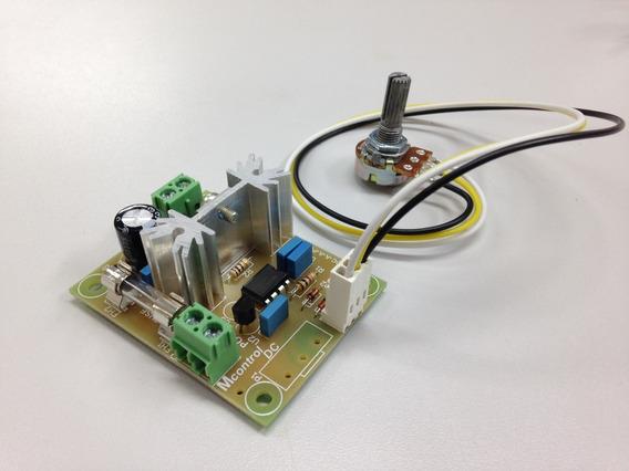 Controlador De Motor Dc Pwm 5vdc A 24vdc 10a C/ Pot. Externo