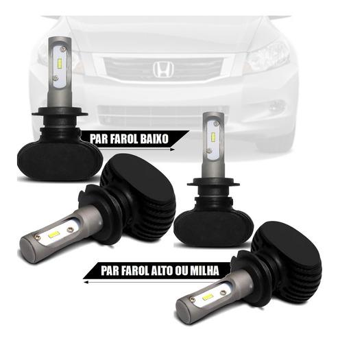 Imagem 1 de 2 de Combo Lampada Ultra Led Hb4/hb3 Honda Accord
