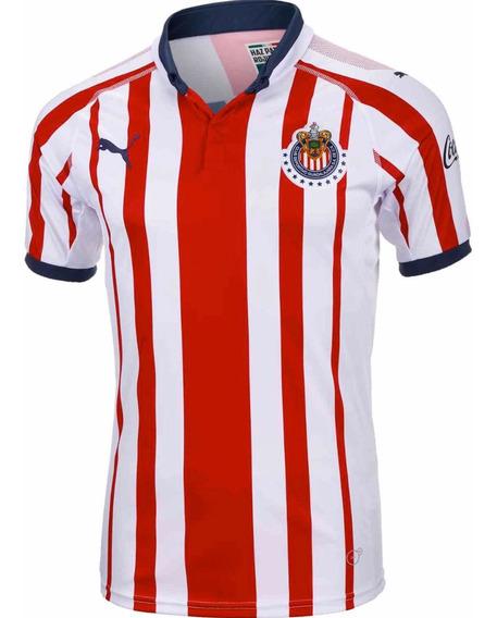 Jersey Profesional Chivas Casa 18-19 Liga Mx Envío Gratis