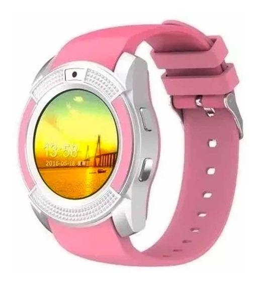 Smart Watch V8 Curcular Camara Reloj Inteligente Modelo V8