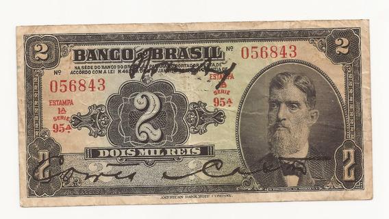Cédula Brasil 1.000 Réis R194b