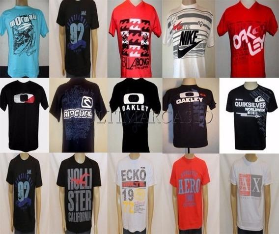 30 Camiseta Masculina De Marca Atacado