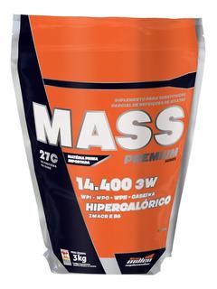 Massa Mass Premium 14400 3kg Morango New Millen