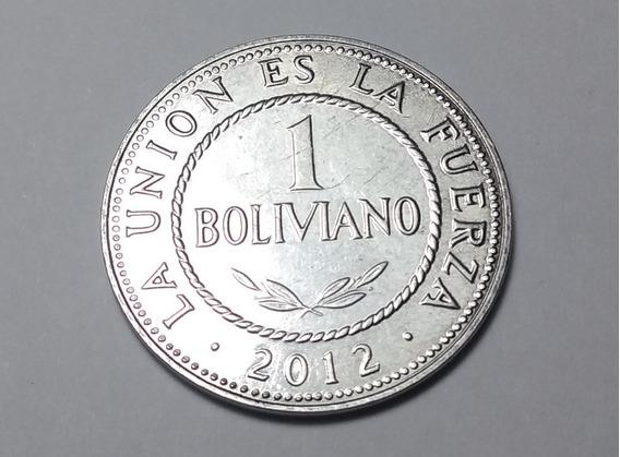 Moneda De 1 Boliviano-sin Circular