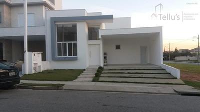 Excelente Casa Térrea 3 Suítes À Venda, Condomínio Ibiti Royal Park, Sorocaba. - Ca0556