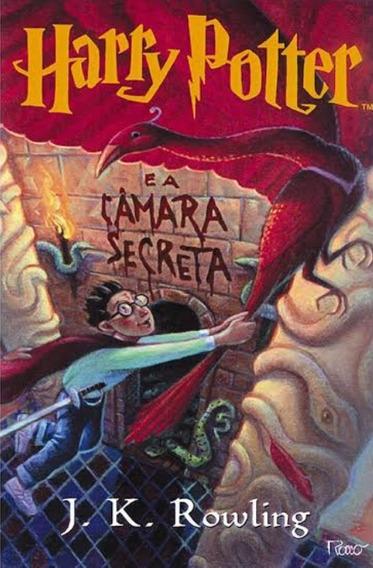 Livro Harry Potter E A Camara Secreta Capa Orginal