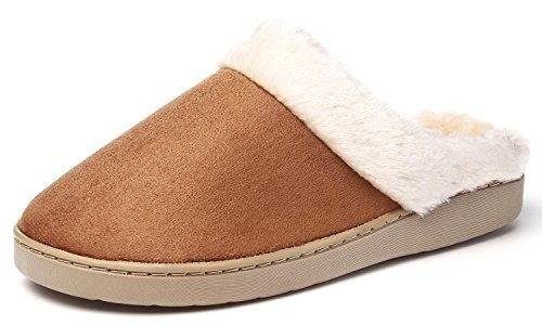 Zapatillas De Invierno Kushyshoo Slip-on Fluffy Winter Zueco