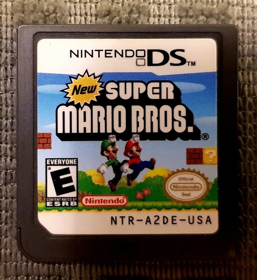 Nds 2ds New Super Mario Bros.
