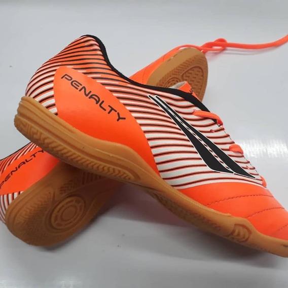 Botines Futsal Penalty Dominio Ix Naranja Niño
