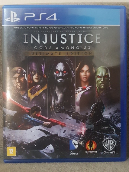 Injustice: Gods Among Us Ultimate Edition - Ps4 Mídia Física