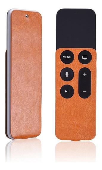 Capa Estilo Couro Para Controle Apple Tv 4a. Geração E 4k