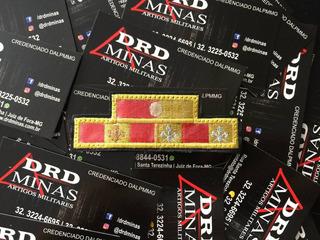Medalha Bordada 10/20 Anos/merito Profissional - Cbmmg