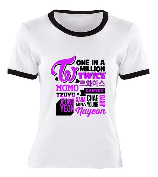Remera One In A Million Twice Kpop Ideal Regalo
