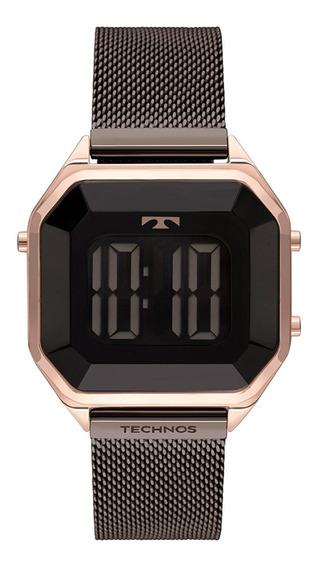 Relógio Technos Feminino Digital Bj3851an/1p