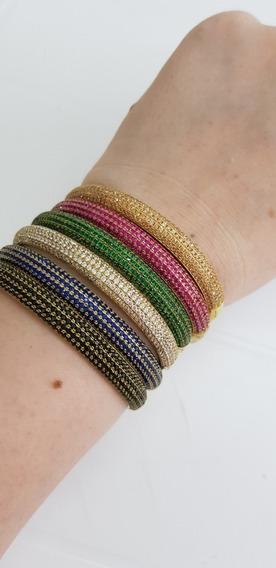 Bracelete Com Zirconias Pulseira
