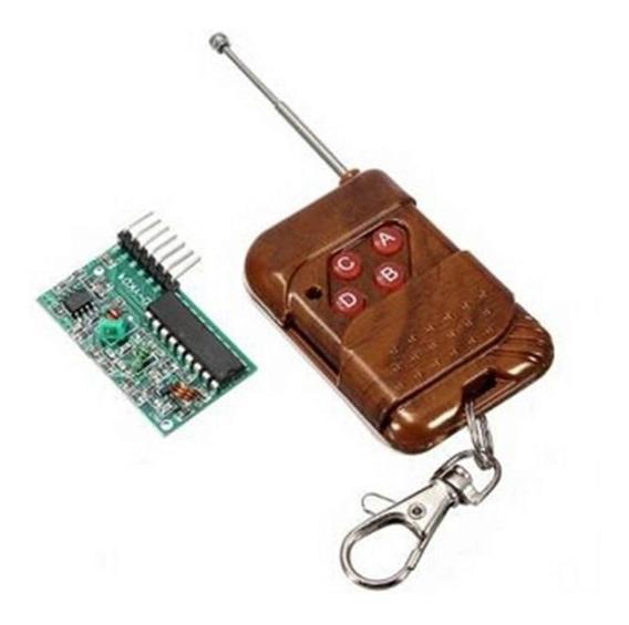 Kit Controle Remoto Rf + Receptor Rf Arduino