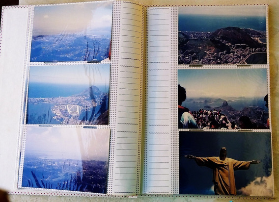 Rio De Janeiro 1990 Album De Fotografia C/ 103 Fotos Antigas