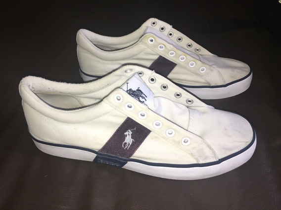 Tênis Polo Ralph Lauren Canvas Upper