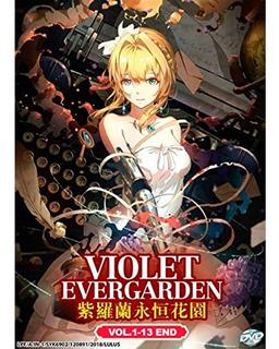 Violet Evergarden Serie Dvd 13 Episodios