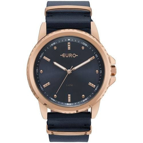 Relógio Feminino Analógico Euro Eu2035ynm/4a - Azul