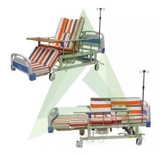 Cama Hospitalaria Eléctrica 6-1 Mesa Urinario Silla P Suero