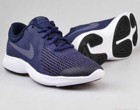 Nike Revolution 4(gs) Azul Marino 22.5 -24.5