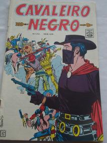 Cavaleiro Negro Nº 212 De 1970 Cores Faroeste E Cowboys Rge