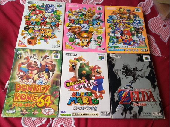 Jogos Nintendo 64 Snes