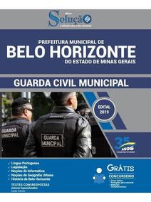 Apostila Belo Horizonte Mg 2019 Guarda Municipal