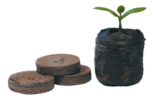 20 Peat Pellet Sutrato Comprimido Germinación Peat Moss