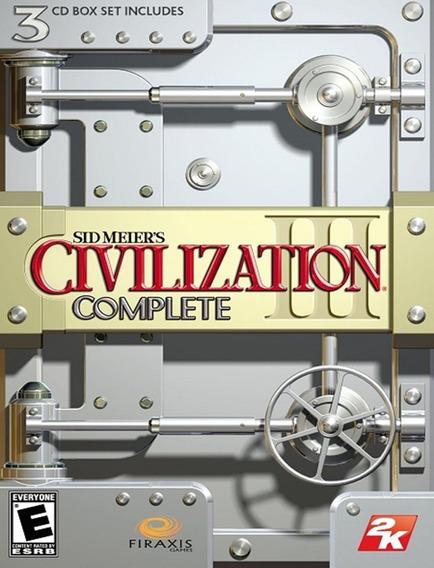 Civilization 3 Complete Pc - Steam Key (envio Flash)
