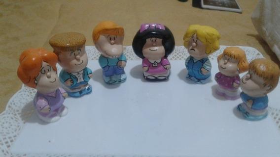 Muñecos Personajes Mafalda. El Precio Es Por Los Siete.
